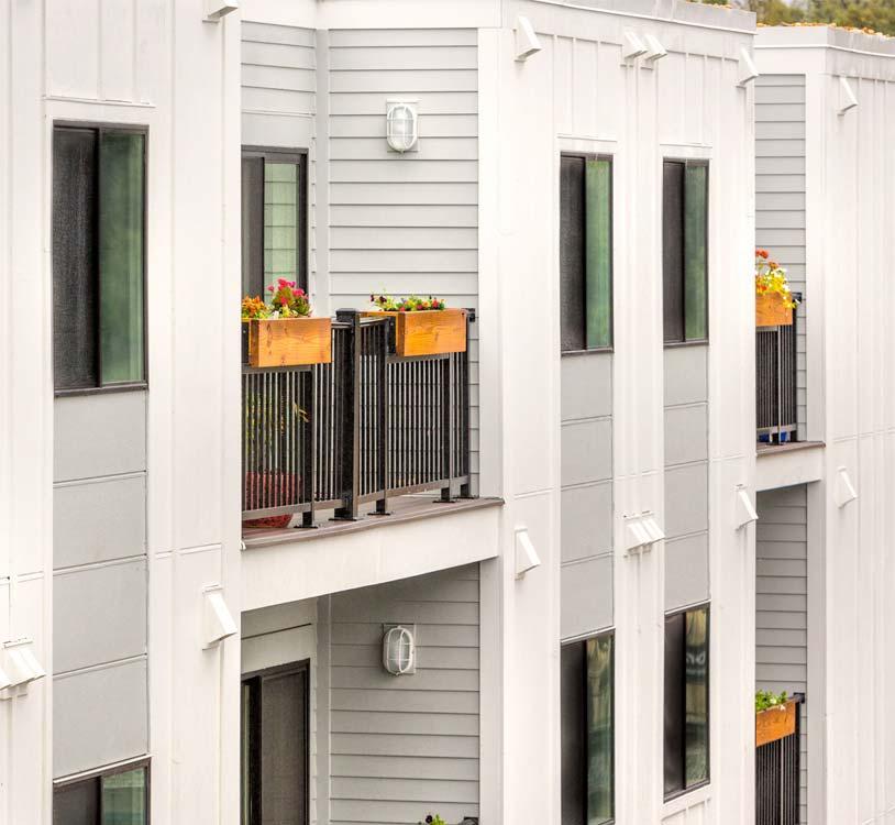 Metro Village Apartments Exterior