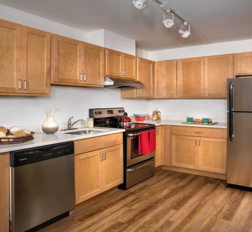 Metro Village Apartments Kitchen