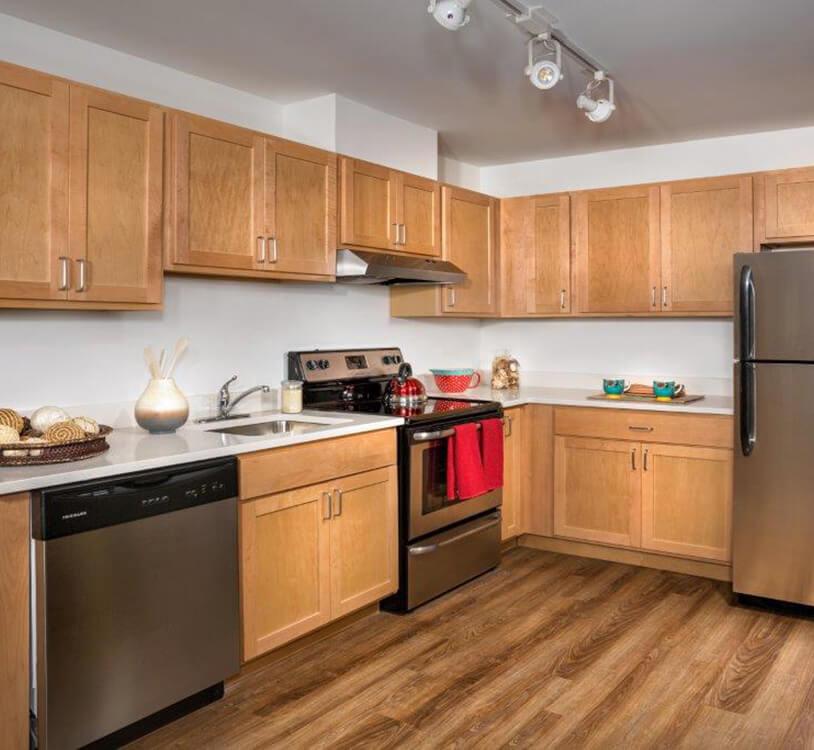 Metro Village Apartments Kitchen