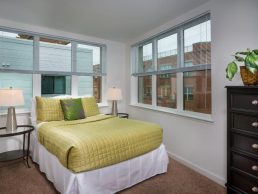 Metro Village Apartments near Takoma Park bedroom