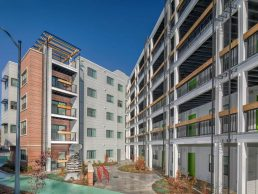 Metro Village Apartments in Takoma Park Exterior
