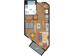 SI Floor Plan - Apartments in Takoma Park md