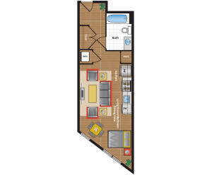 SJ Floor Plan - apartments near takoma park md