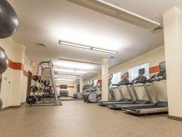 Huge Fitness Center Takoma Park Apartments near Metro